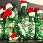 Disfruta de cervezas en navidad